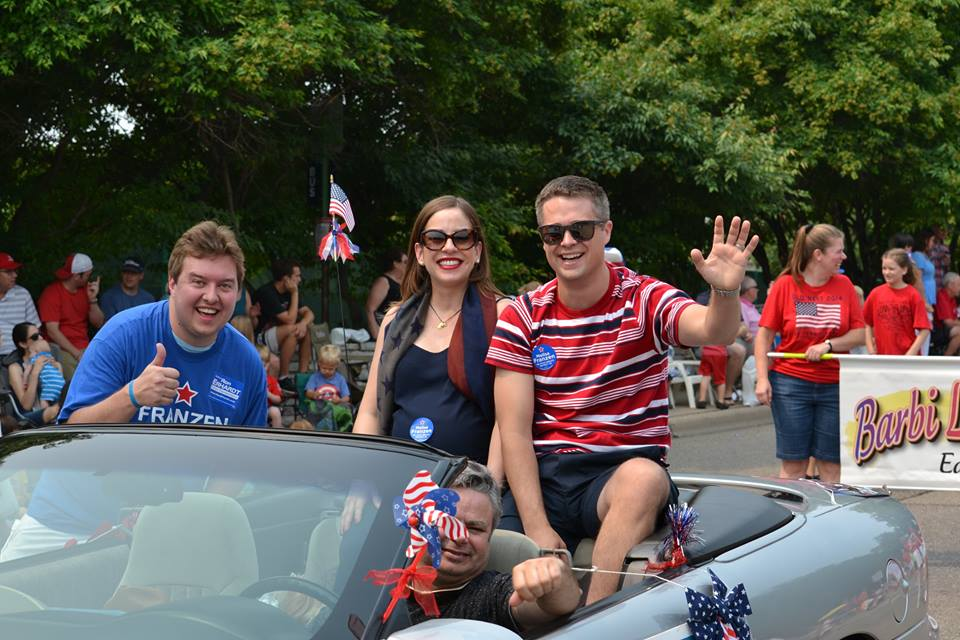 4th of July Parade closeup
